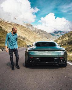 "847 Likes, 5 Comments - Aston Martin Supercars Motors (@astonbuzz) on Instagram: ""Aston Martin DB11 fun ride anyone? -->FOLLOW @AstonBuzz for More<-- • [©Photo Credits:…"""
