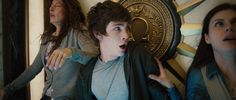 Percy Jackson And Annabeth Chase Image: Percy Jackson And The Olympians: The Lightning Thief Percy Jackson Movie, Percy Jackson Characters, The Lightning Thief, Annabeth Chase, Logan Lerman, Uncle Rick, Heroes Of Olympus, Olympians, Films