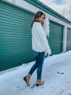 Tips on Styling Statement Sweaters | My Picks Under $50 - Kelsie Kristine