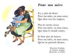 Maurice Carême - Pour ma mère