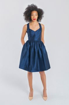 Seasonal Wedding Ideas: This flirty dress is perfect for your last minute event! Ships within days!