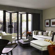 Diseño de Interiores & Arquitectura: Salas de Estar de Planta Abierta - 10 de Las Mejores Ideas Para Este Verano 2014
