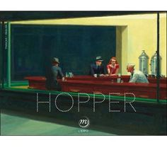 Nighthawks, a piece by Edward Hopper, depicts the loneliness of life in a city. The Nighthawks painting illustrates Hopper's personal approach to art. American Gods, American Art, Edouard Hopper, Edward Hopper Paintings, Illustrations Poster, David Hockney, Expositions, Pics Art, Love Art