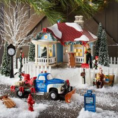 Snow Village 1976 Olive Street, Stillwater | Department 56 Corner