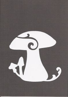 Kitchen Wall Decal  Mushroom by SpecialCuts on Etsy, $4.00