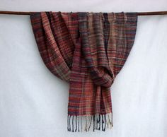 Handwoven Scarf /  Shawl / Wrap Multicolored  OOAK by PenelopeNow, $180.00