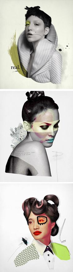 Collages by Prince Lauder http://www.princelauder.com/