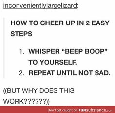 """I read this as """"How to cheer in 2 easy steps"""" and got really confused."""
