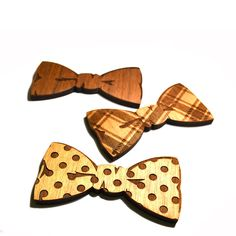 Wooden Bow Tie    by Made Lovingly Made