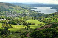 Ambleside, UK (Lake Windermere in the distance)