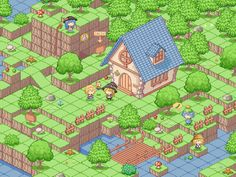 unknown JP isometric game