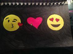 Random emoji drawing