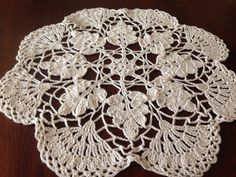 Woodland Lace Doily 12 by SpecialDoilies on Etsy