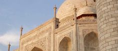 Agra: part of the Golden Triangle and home of the Taj Mahal. I've heard it can be very crowded but is well worth the visit