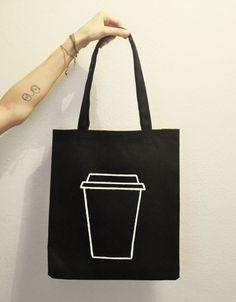 Coffee Craft / El Yapımı Bez Çanta Zet.com'da 70 TL