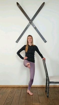 Find something to hold on to and light your thighs on fire with this exercise sequence! grand battement Tip: keep your working leg slig… [Video] Fitness Workouts, At Home Workouts, Fitness Motivation, Barre Body, Body Transformation Program, Musa Fitness, Thigh Exercises, Workout Videos, Barre Workout Video