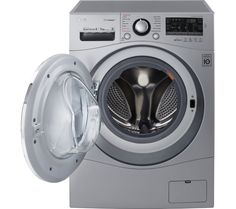 Find your Washer dryers . All the latest models and great deals on Washer dryers are on Currys with next day delivery. Dark Grey Color, Washing Machine, Color Schemes, Household, Laundry, New Homes, Home Appliances, Dryers, Tecnologia