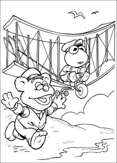 Muppets Coloring Pages 47
