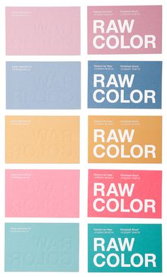 It's Nice That : Graphic design: Eindhoven studio Raw Color develop lovely new identity