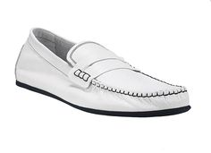 white   Slip-ons  www.garantito1966.com