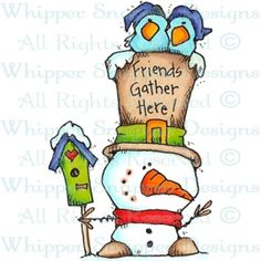 Gather Here Snowman