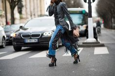 On the Streets of Paris Fashion Week Fall 2014 - PFW Street Style Day 5