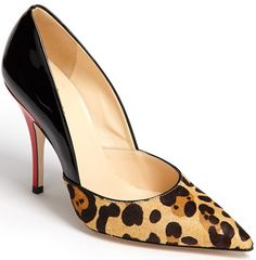 Kate Spade New York Lottie Pump Leopard Haircalf Black $328.00 #shoes #heels - Available here: http://www.needcuteshoes.com/products/kate-spade-new-york-lottie-pump-leopard-haircalf-black/