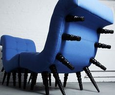 Centipede Chair - http://tiwib.co/centipede-chair/ #Furniture