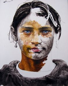 "saatchi online artist: daniel brici; oil painting ""bodle."""
