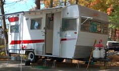 1965 Shasta Camper with wings!