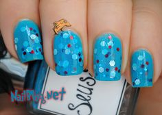 "Whimsical Ideas by Pam ""Suess"" Indie Polish! (nailblog is currently hosting a giveaway until 8/02)"