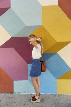See Amanda Elizabeth's 70s inspired chic