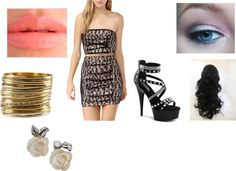"""""""Let's go Clubbing! (Allisha)"""" by tracy-mills52 ❤ liked on Polyvore"""