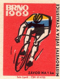 Beautiful Cycling-Themed Matchbox Labels From The Bike Illustration, Mountain Style, Bicycle Art, Japanese Artists, Art Techniques, Great Artists, Cycling, Canvas, Prints