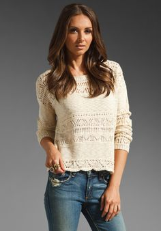 LUCCA COUTURE Top in Ivory at Revolve Clothing - Free Shipping!