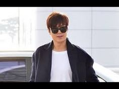 Lee Min Ho Airport Fashion!  Incheon International Airport from Shanghai
