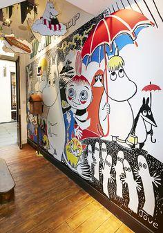 PLANarama for The Moomin Shop. Moomin Shop, Moomin Valley, Retail Interior, Carousel, Interiors, Shopping, Decoration Home, Carousels, Decor