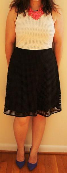 3rd Fix, July 2016: London Times Kael Lasercut Knit Dress