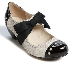 Mary Janes with Bow