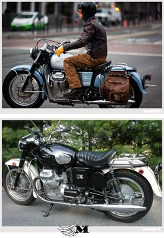 MotArt: Moto Guzzi Ambassador 750