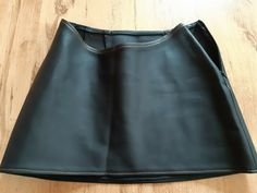 Goth Club, Black Rubber, Cyber, Leather Skirt, Size 12, Mini Skirts, Best Deals, Ebay, Fashion
