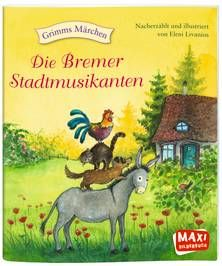 Die Bremer Stadtmusikanten. Ab 3 Jahren.