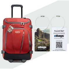 Whether you're traveling for business, pleasure, or the holidays, lost luggage can ruin a trip! In the event a bag goes missing, the eBags Connected Luggage Tag makes it easy for others to find and reunite you with your bag! Plus, it's only $4.95 and ships free!