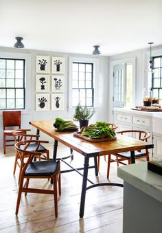 A coastal kitchen in