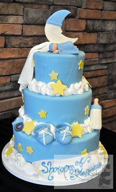 baby shower cakes for a boy | Baby Shower Cakes - A Little Cake