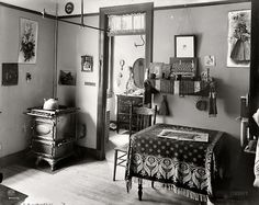 "edwardianera: Circa 1910. ""New York tenement."""