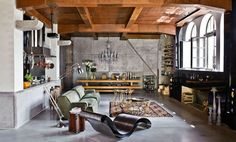 A spacious loft? A handsome cabin? That's the easy side of real estate. Designers who truly want to knock socks off take on more challenging spaces – churches, caves, factories – and transform them …