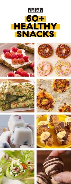 70 healthy snacks that are way better than anything in a vending machine