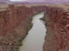 Grand Canyon North Rim: colorodo river