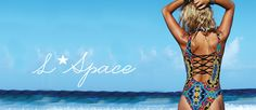 Introducing L*Space Swimwear 2016: a collection defined by ultra lux, ultra fashionable bikinis, monokinis, one pieces, and resort wear that are perfect for the fashionable and sporty-chic beach girl. L*Space swimsuits stand for Love. Life. Luxury…